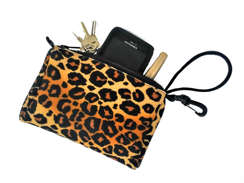 wristlet beach pool surf leopard animal print