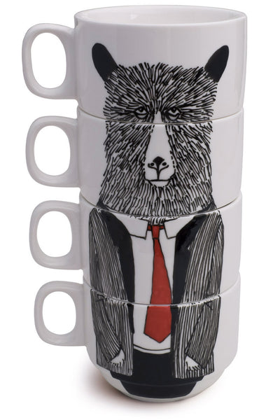 Jimbobart, MR BEAR COFFEE CUPS
