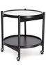 BRDR. KRÜGER, Bølling Tray Table Beech, Black Painted