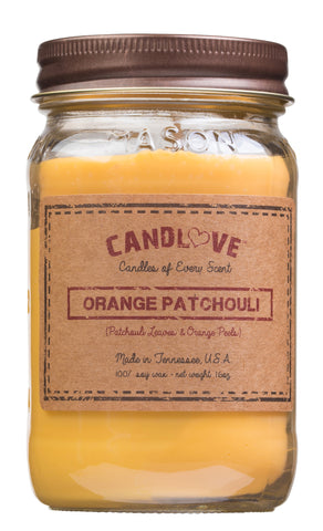 Orange Patchouli 16 oz. Candles
