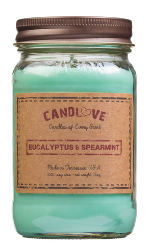 Eucalyptus & Spearmint 16 oz. Candles