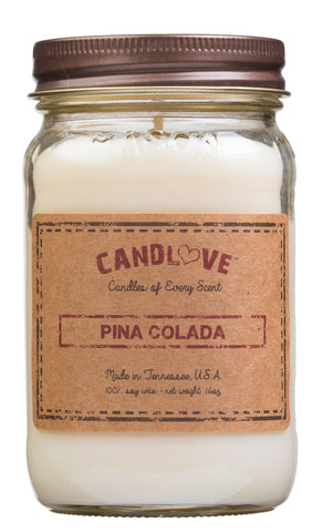 Pina Colada 16 oz. Candles