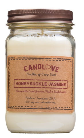 Honeysuckle Jasmine 16 oz. Candles