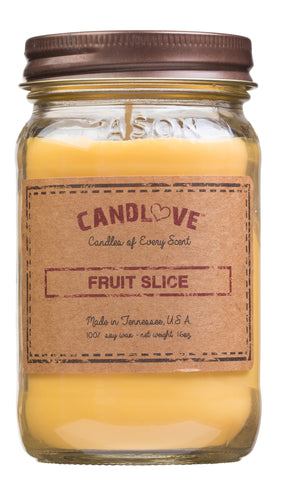 Fruit Slice 16 oz. Candles
