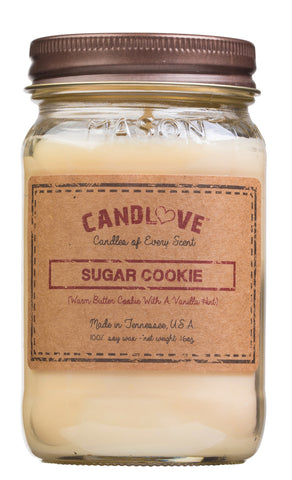 Sugar Cookie 16 oz. Candles