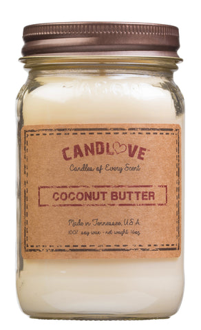 Coconut Butter 16 oz. Candles