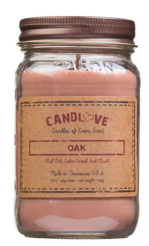 Oak 16 oz. Candles