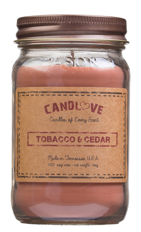 Tobacco & Cedar 16 oz. Candles