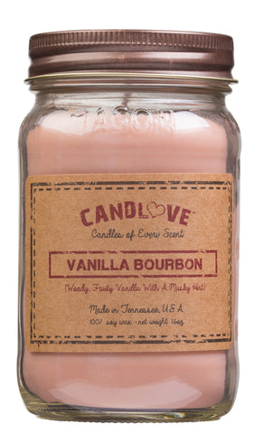 Vanilla Bourbon 16 oz. Candles