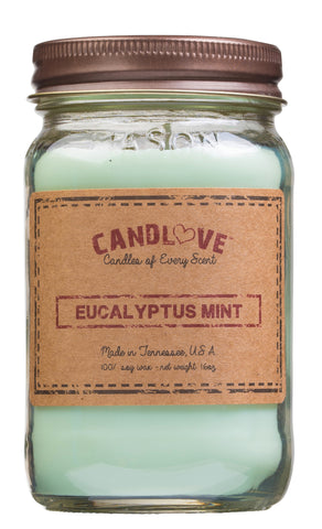 Eucalyptus Mint 16 oz. Candles
