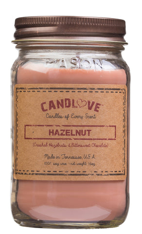 Hazelnut 16 oz. Candles