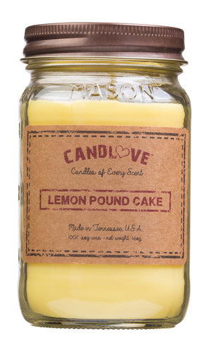 Lemon Pound Cake 16 oz. Candles
