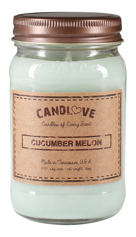 Cucumber Melon 16 oz. Candles