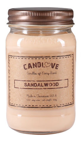 Sandalwood 16 oz. Candles