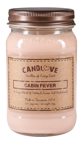 Cabin Fever 16 oz. Candles