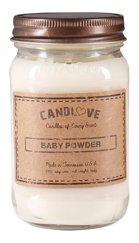 Baby Powder 16 oz. Candles