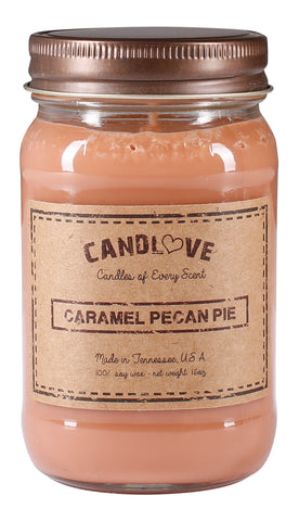 Caramel Pecan Pie 16 oz. Candles