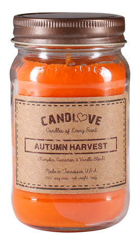 Autumn Harvest 16 oz. Candle