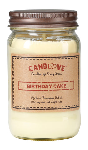 Birthday Cake 16 oz. Candles