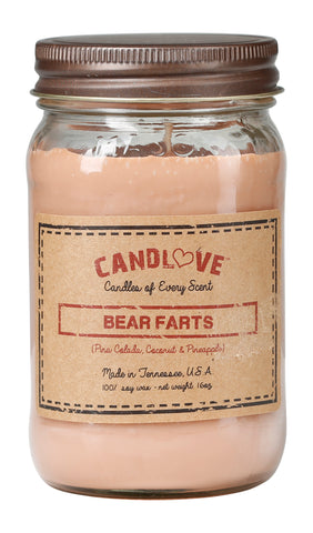 Bear Farts 16 oz. Candles