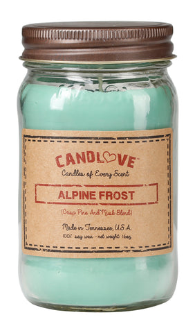 Alpine Frost 16 oz. Candles