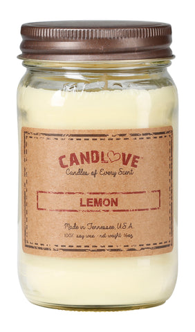 Lemon 16 oz. Candles