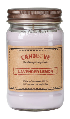 Lavender Lemon 16 oz. Candles