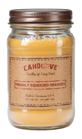 Freshly Squeezed Oranges 16 oz. Candles