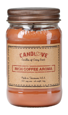 Rich Coffee 16 oz. Candles
