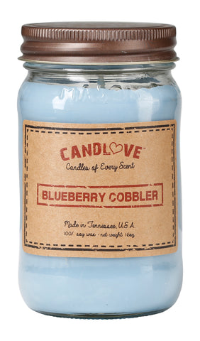 Blueberry Cobbler 16 oz. Candles