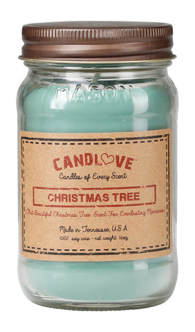 Christmas Tree 16 oz. Candles