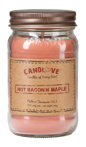Hot Bacon 'n Maple 16 oz. Candles