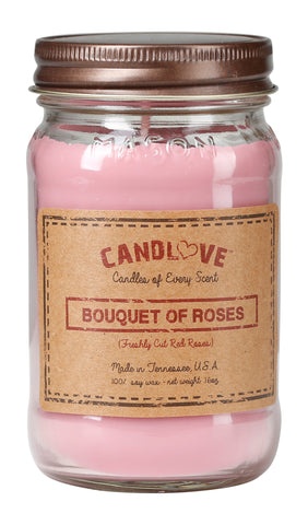 Bouquet of Roses 16 oz. Candles