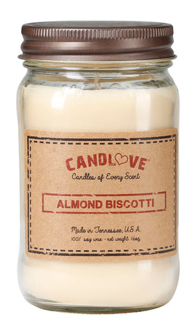 Almond Biscotti 16 oz. Candles
