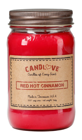 Red Hot Cinnamon 16 oz. Candles