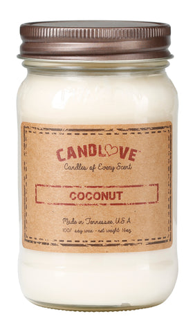 Coconut 16 oz. Candles