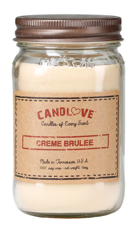 Creme Brulee 16 oz. Candles