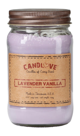 Lavender Vanilla 16 oz. Candles