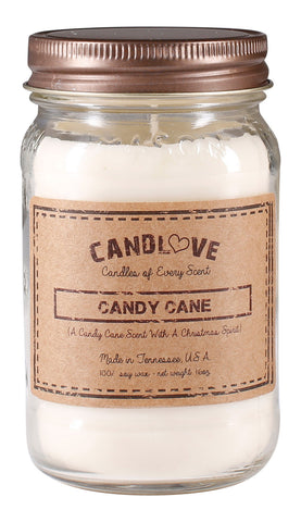Candy Cane 16 oz. Candles