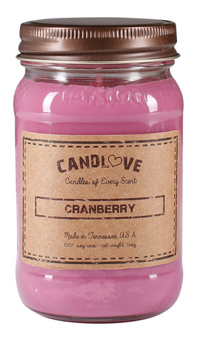 Cranberry 16 oz. Candles