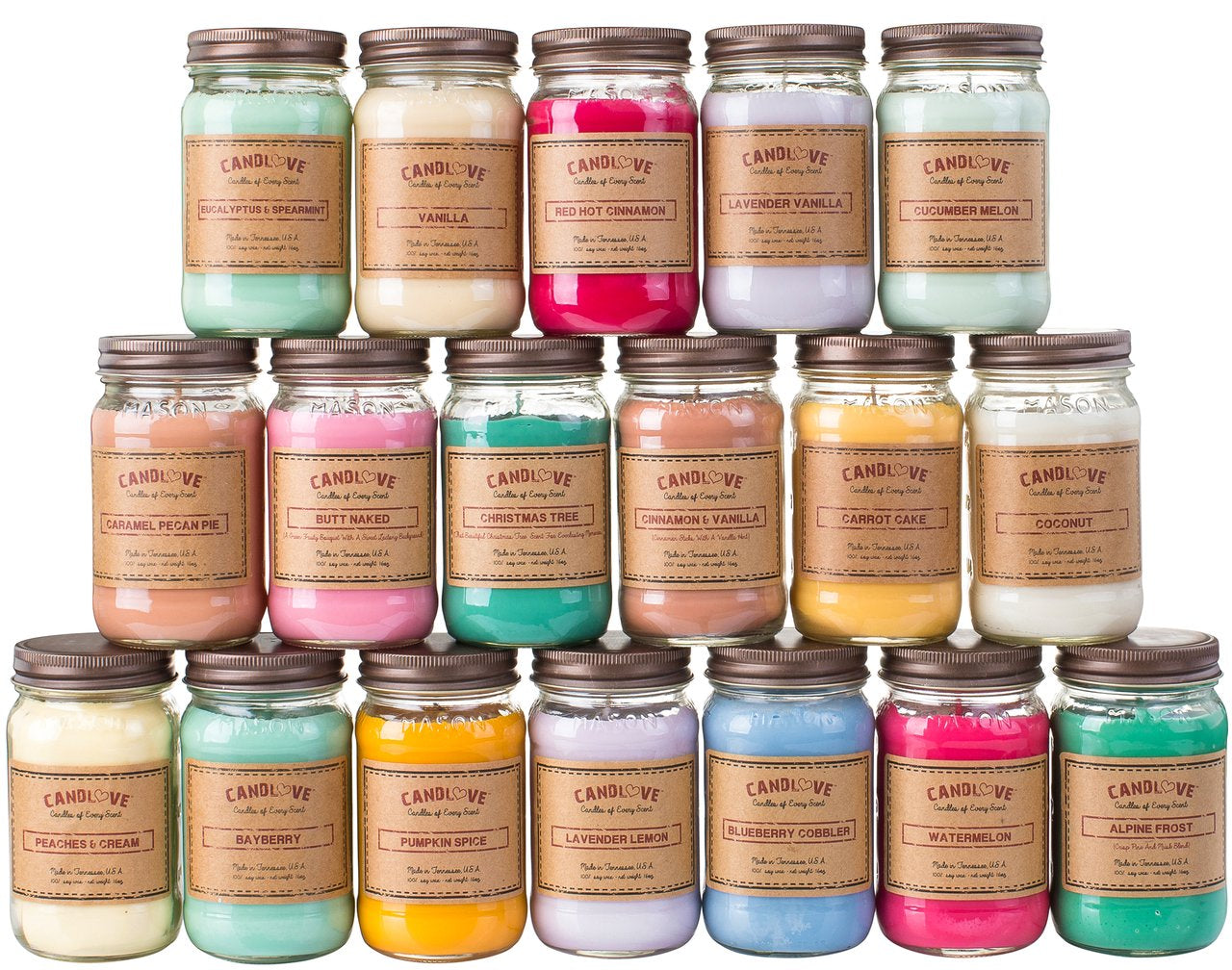 Fall Sale! Buy any 5 candles get one FREE!