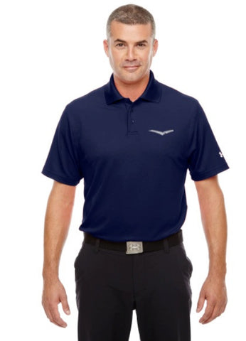 6b0581390a735 Under Armour Men s Corp Performance Polo - Midnight Navy
