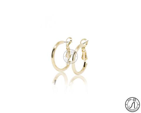 Basic Round Hoop Earring