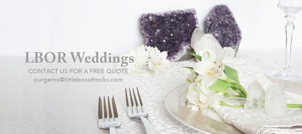 Healing Crystal Weddings