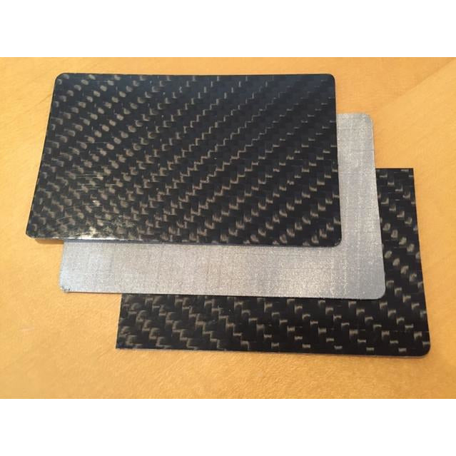 Carbon Fiber Privacy & RFID Blocking Card