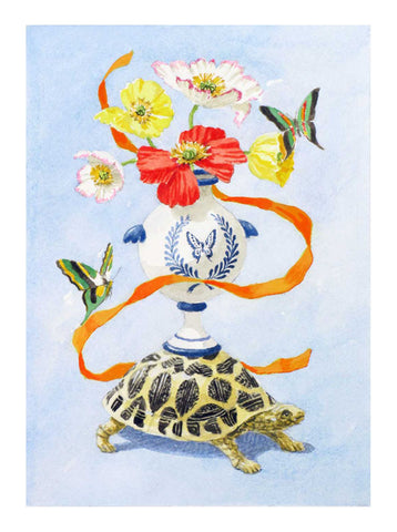 Turtle with Urn