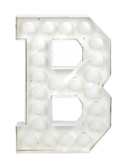 Vegaz Metal Letter Lighting - Coveted Gifts - 3