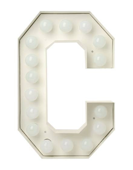 Vegaz Metal Letter Lighting - Coveted Gifts - 4