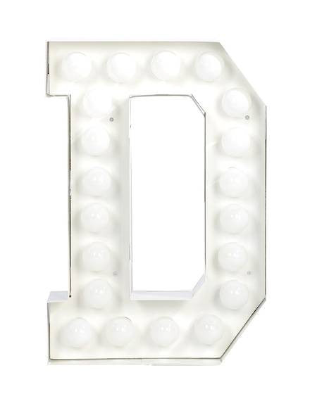 Vegaz Metal Letter Lighting - Coveted Gifts - 5