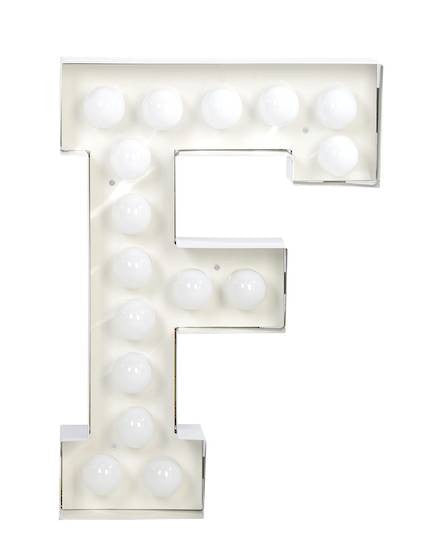 Vegaz Metal Letter Lighting - Coveted Gifts - 7